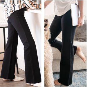 Betabrand | Classic Bootcut Dress Pant Yoga Pants